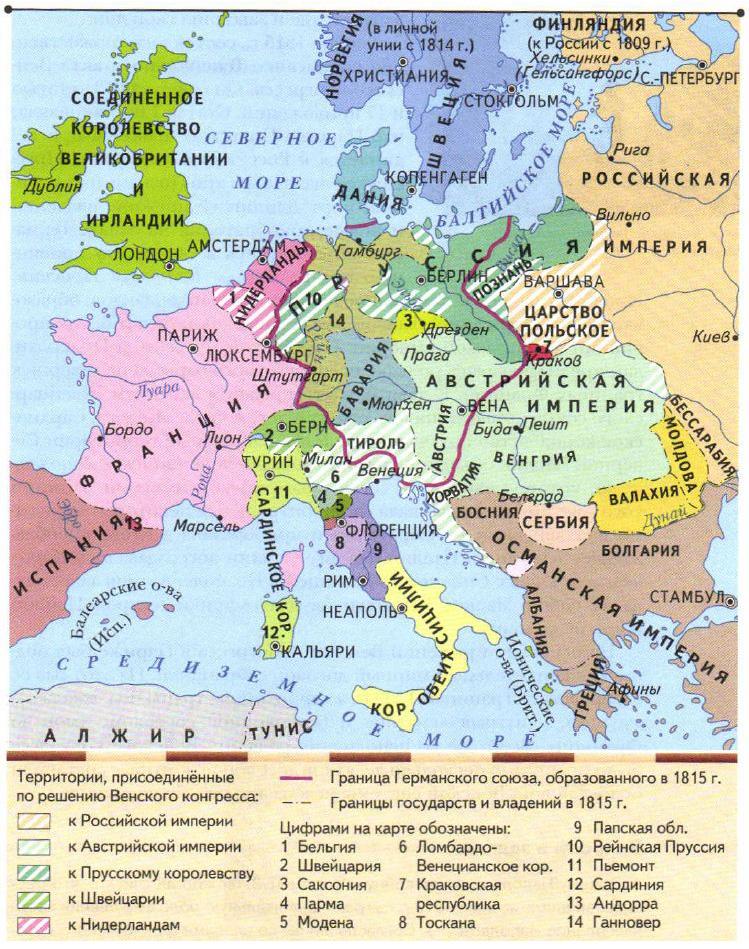 Доклад на тему венский конгресс 963