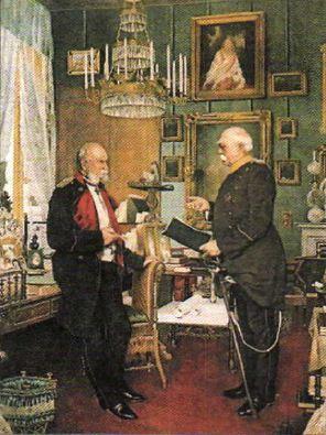 Начало объединения Германии в xix веке Новая история Реферат  О фон Бисмарк и император Вильгельм i