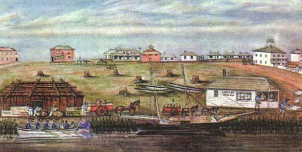 Австралия как колония Британской империи доминион Англии Новая  В Лиарде Мельбурн в 1840 г