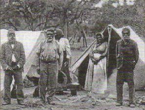 Австралия как колония Британской империи доминион Англии Новая  Аборигены Австралии Фото 1887 г