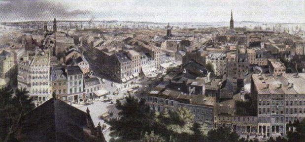 Север США в xix веке Новая история Реферат доклад сообщение  Г Паприлл Нью Йорк 1849 г