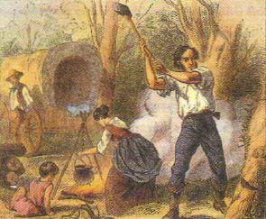 Освоение и развитие Запада США в середине xix века Новая история  Дж Митон Переселенцы на Запад