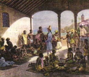 Борьба война за независимость в Латинской Америке в начале xix  Невольничий рынок