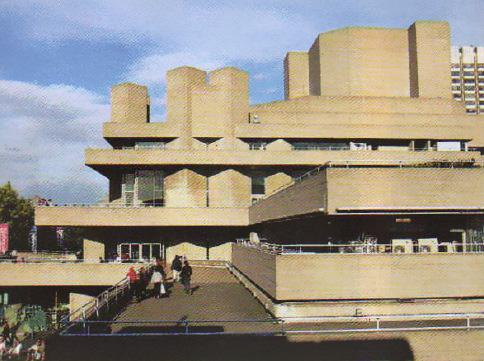 Архитектура второй половины века Новейшая история Реферат  Королевский театр в Лондоне Стиль брутализм