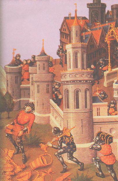 Крестовые походы веков История Средних веков Реферат  Разграбление Иерусалима Миниатюра xv в