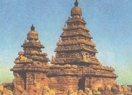 Средневековая Индия История Средних веков Реферат доклад  Храм в Махабалипураме viii в
