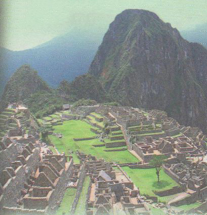 Доколумбова Америка ацтеки майя инки История Средних веков  Мачу Пикчу Развалины города инков