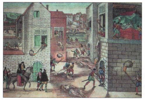 Религиозные войны католиков и протестантов века Новая  Варфоломеевская ночь