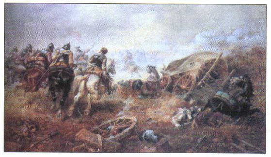 Гражданские войны в Англии годы Новая история  Гражданская война в Англии