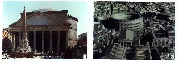 Рим столица империи История Древнего мира Реферат доклад  Центральная часть Рима Современный макет
