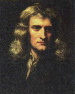 Закон всемирного тяготения в астрономии Астрономия Реферат  Рис 39 Исаак Ньютон